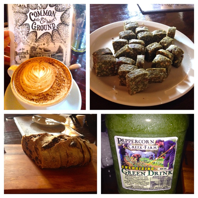 Common Grounds Cafe, organic cafe, organic bakery