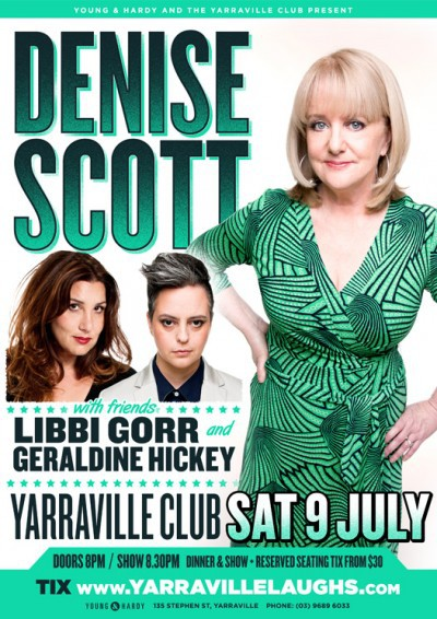 Denise Scott & Friends at the Yarraville Club
