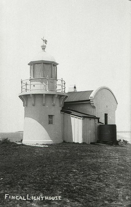 Fingal Head Lighthouse and Coastal Reserve, NSW, history of the lighthouse, historic building, Tweed Shire, tourist destination, Fingal Beach, native vegetation, Dreamtime Beach, shipwrecks, Fingal Head