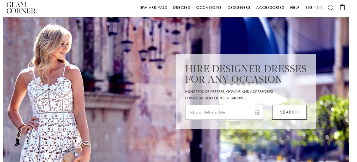 Glamcorner Designer Dress Hire Melbourne