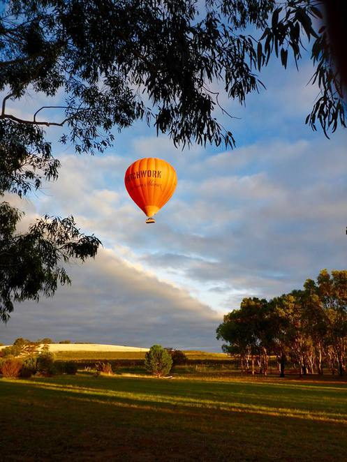 Hot Air Ballooning, Barossa Valley, SA, Adelaide, Mothers Day, Fun, Events, Adventure, Breakfast, Outdoors