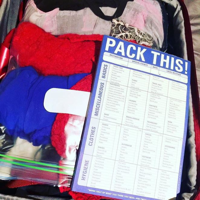 how to pack when you travel