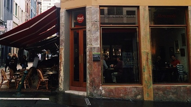 kirks wine bar, hardware lane, wine bars melbourne