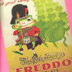 Original Freddo Frog Packaging (source: Mamor website)
