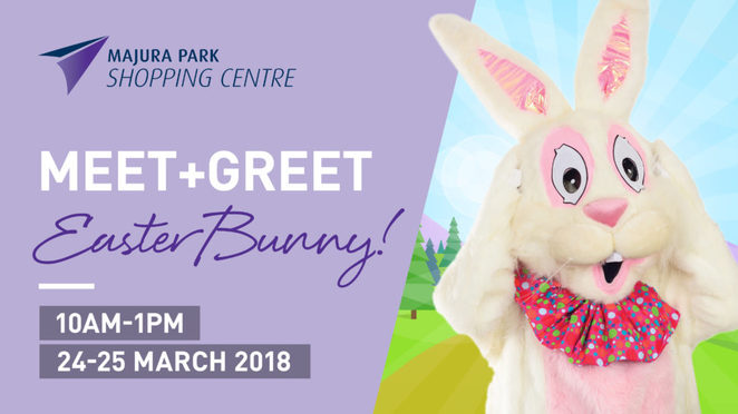 majura park shopping centre, easter 2018, canberra, ACT, kids activities, easter bunny, free, chocolate eggs, easter eggs, bunnies, events,