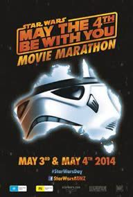 May the Fourth be with you, star wars day, melbourne star wars day, hoyts movie marathon