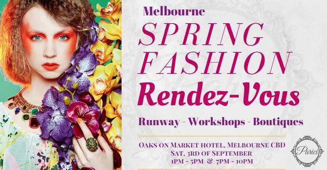 Melbourne Spring Fashion Rendez Vous Melbourne