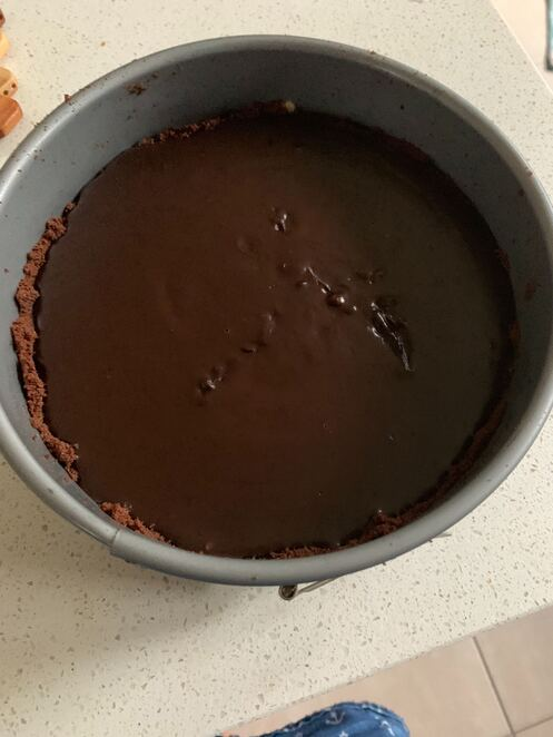 No Bake Chocolate Tart -theeconomicsocio