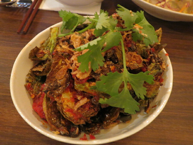 Ong Vietnamese Kitchen, Brussel Sprouts, Adelaide