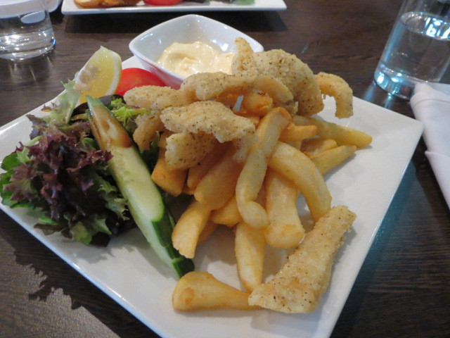 Perfect Cup Cafe, Bush Spice & Native Pepper Squid, Adelaide