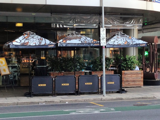 Top breakfasts on Pirie Street, Earths Kitchen, Grassroots, Abbots and Kinney, Viva Espresso, Caffe Amore, Kicco Cafe