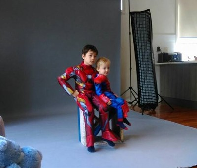 Real Life Superheroes Photoshoot