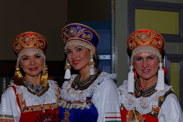 Russian,national,costume