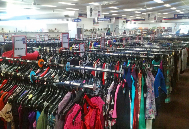salvos fyshwick, canberra, op shops, second hand clothes, ACT, best op shops, second hand stores, thrift shops,