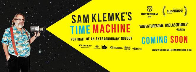 sam klemke, time machine, self portrait, vlog