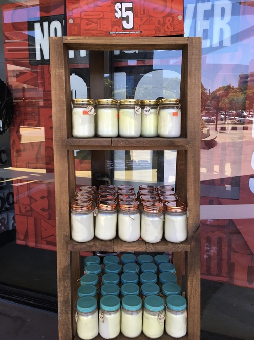 Scented candles, Typo Factory Outlet Sale, Image by jade Jackson, cheap scented candles