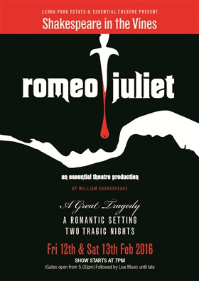 Romeo and Juliet amongst the Vines