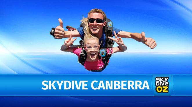 skydive oz, skydive canberra, sky diving, ACT, canberra, things to do,