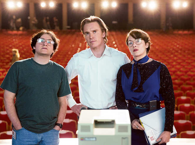 Steve Jobs, Movie Review, Michael Fassbender, Kate Winslet, Seth Rogen