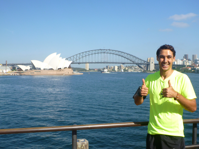 Sydney Running Tours, fitness, jogging, sightseeing, Opera House, Harbour Bridge, Sydney Harbour, Andy, guide