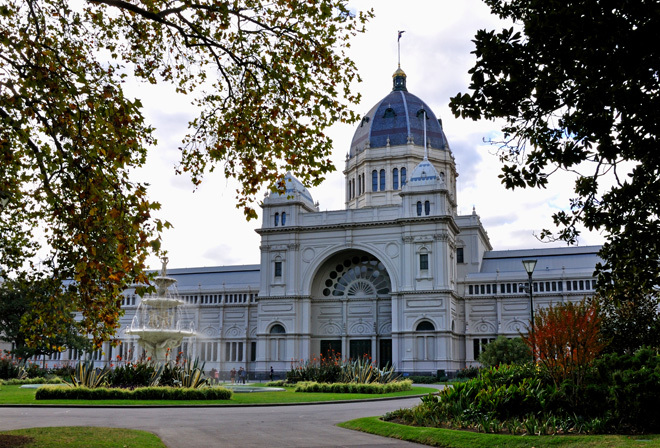 Victoria Melbourne Carlton Flower Garden Show Exhibition Building Floral Landscaping Exhibitions Great Day Out
