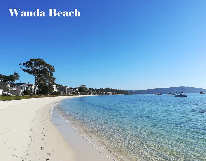 wanda beach, soldiers point, salamander bay, walks, swimming, bays, exercise, fitness, secluded, NSW, australia, port stephens, beach walks, beach swimming, shallow,