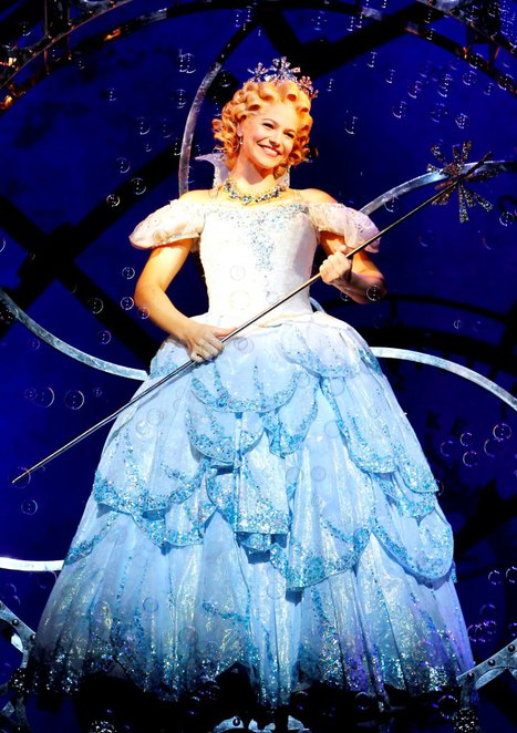 wicked, wizard of oz, glinda, qpac, theatre, musical, broadway