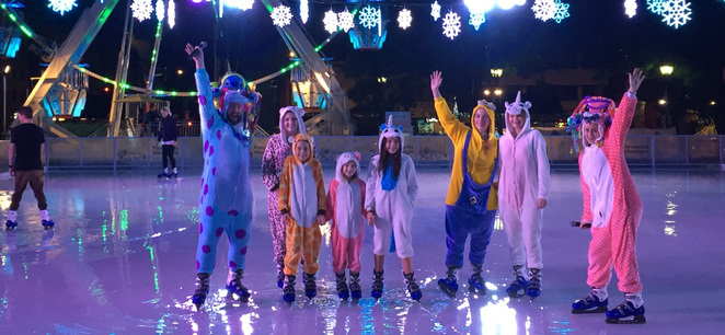 Winterlight Onesie night