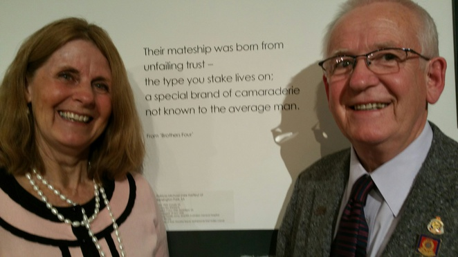 Wish me Luck Exhibition: Poetry Reading with Robert (Bob) Jarrad on Father's Day