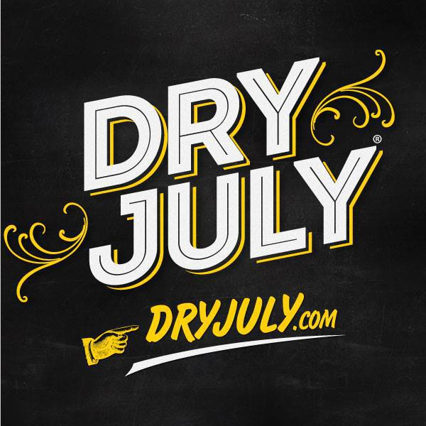 Dry July 2015 - Image from their Facebook page