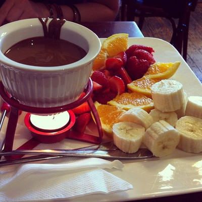 The Chocolate Fondue For Two