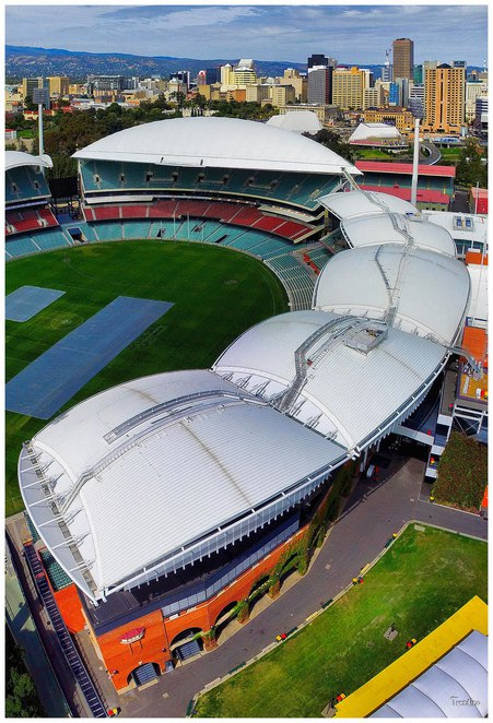 adelaide oval aerial