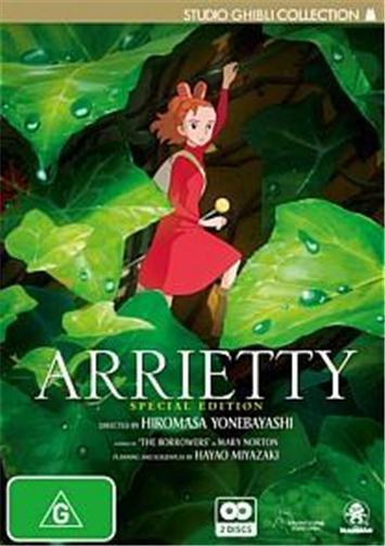 arrietty, borrowers, ghibli, movie, kids movies, movies for children