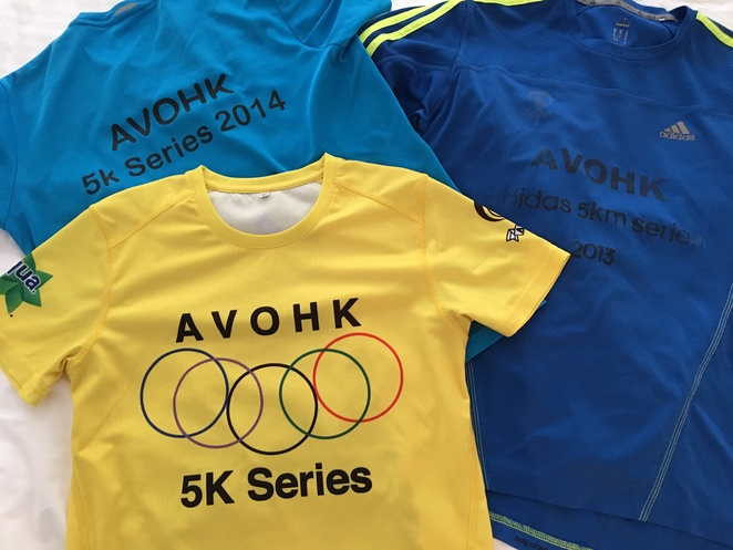AVOHK t-shirt, tee, Hong Kong, South Bay, Wan Chai Gap, 5km summer series race