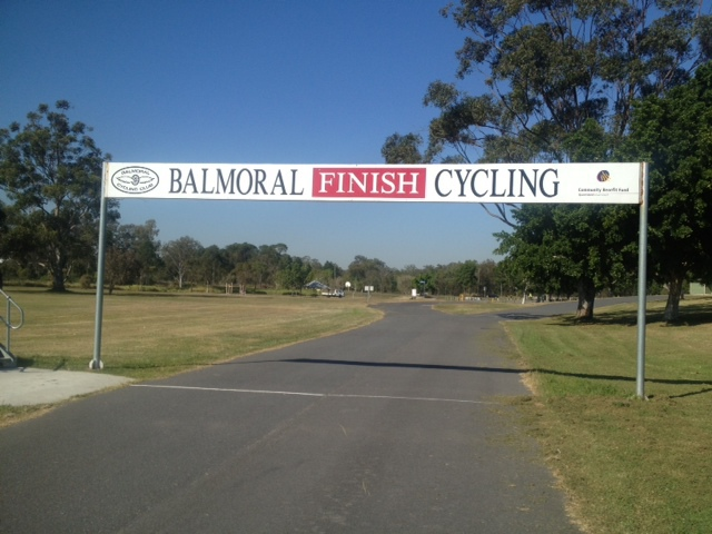 Balmoral Cycling Club, cycling Brisbane, car-free track