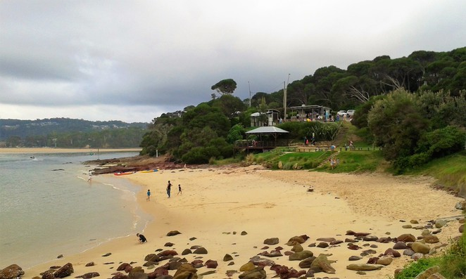 Bar Beach, Merimbula, cafe, kiosk, NSW, sapphire coast, swimming, overnight trips from canberra, roadtrips from canberra, NSW,