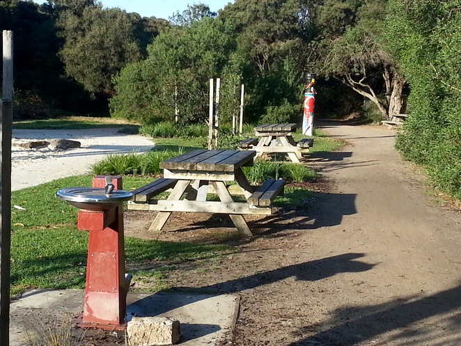 Barwon Heads Village Park, Pirate Park, Drinking fountain