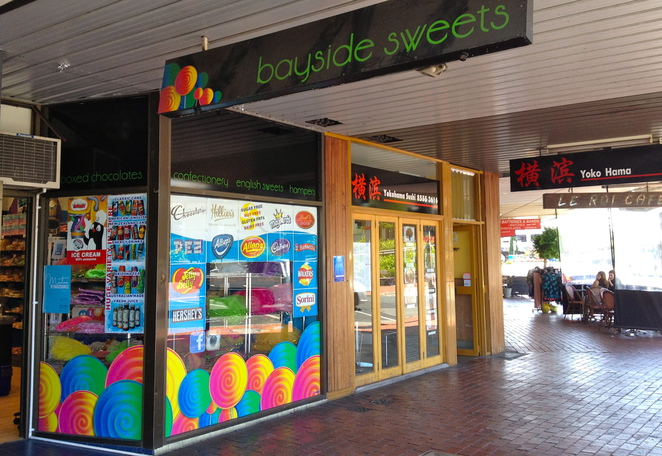 Bayside Sweets and Treats, Mentone Parade, Lolly Shop, Sweets, Chocolate, Easter, Fun for Kids, Fudge, US chocolate, UK chocolate