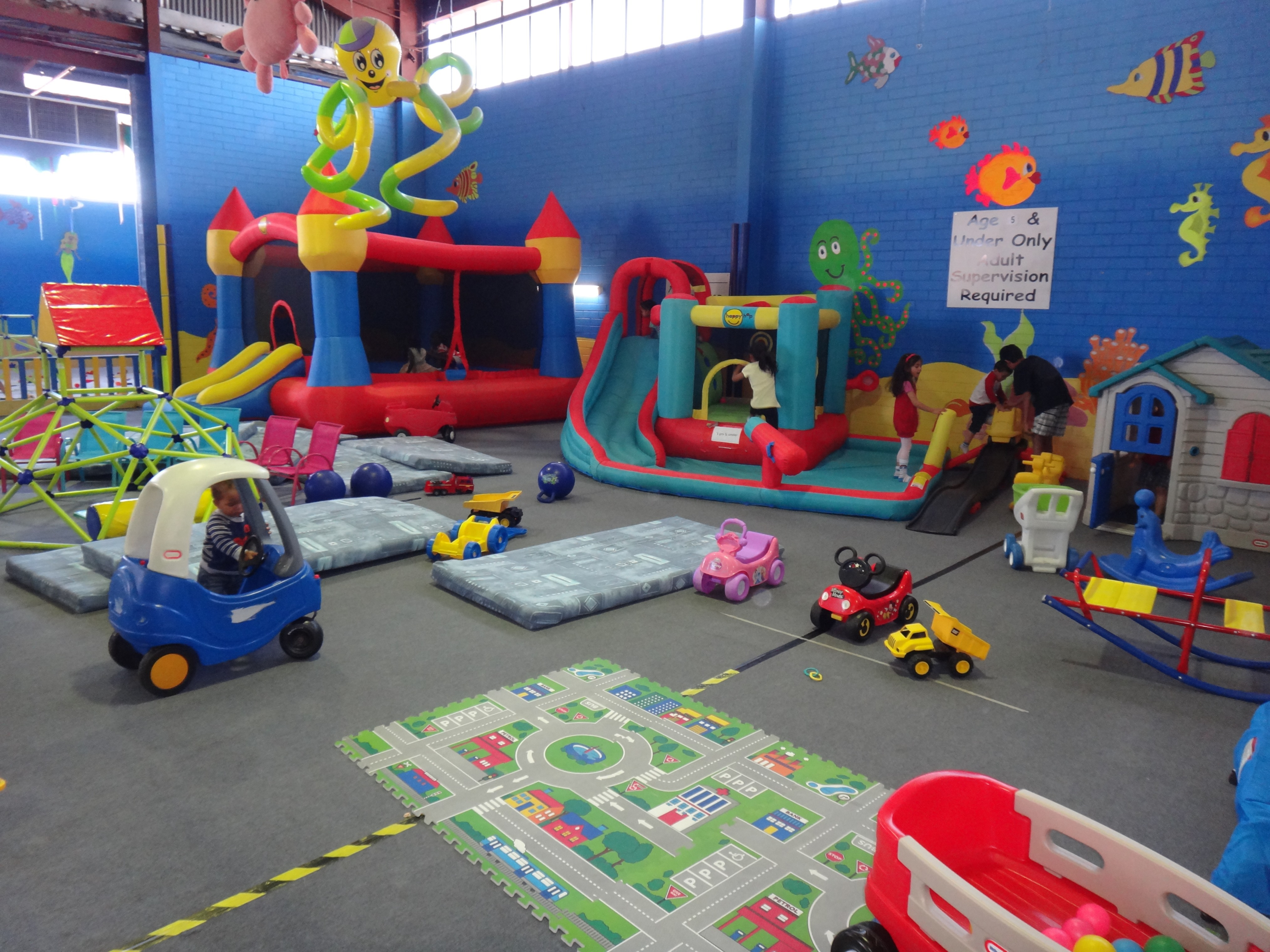 The beach house play centre perth for Best indoor playground for birthday party