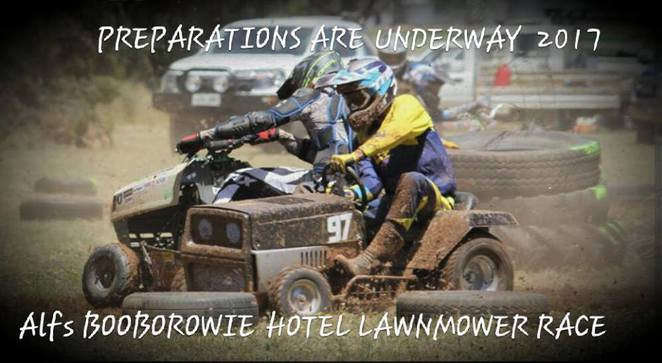 Booborowie, Mower Races, Lawn Mower racing, South Australia, family events, country fairs, Booborowie Hotel
