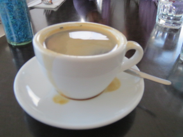Breakfast at Watershed Cafe, Coffee, Adelaide