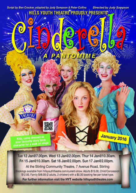 cinderella hills youth theatre arts family entertainment