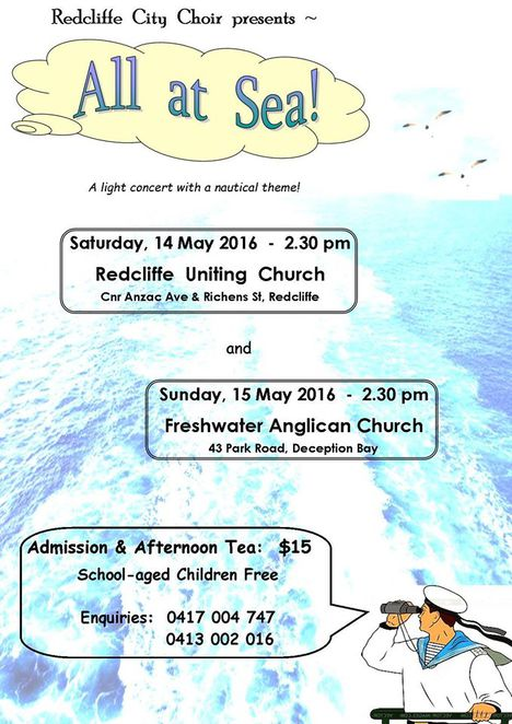 Cultural Events, Choir, Community, Redcliffe, Concerts, Music, Singing, Health