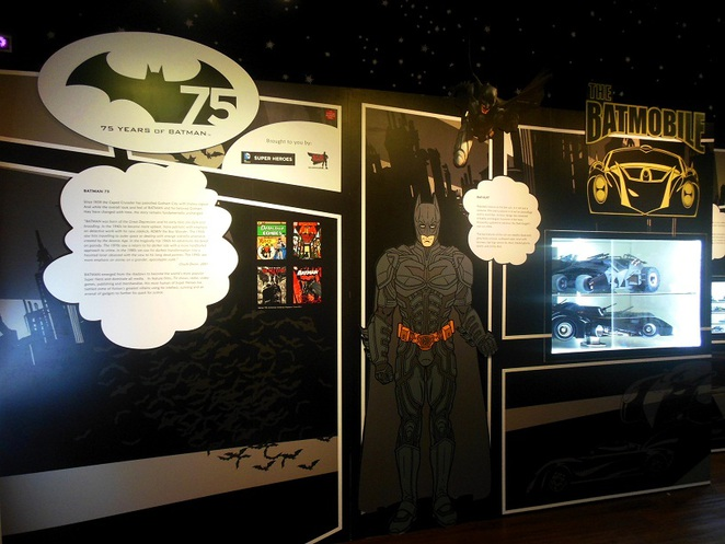 Batman 75th anniversary at Singapore Philatelic Museum