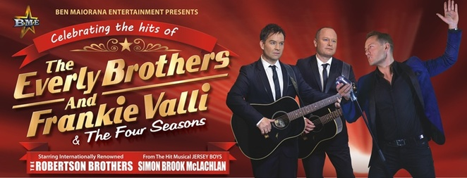 Everly,Brothers,and,Franki,Valli,show