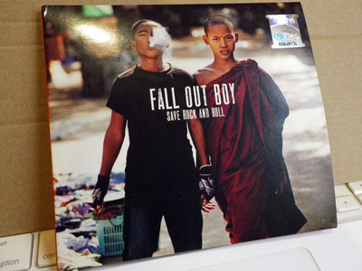 fall out boy save rock and roll