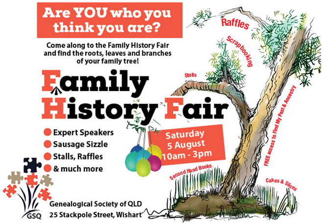 family, history fair, genealogy, National family history month, august. NFHM