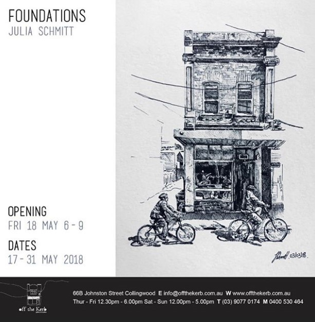 Foundations exhibition julia schmitt off the kerb gallery