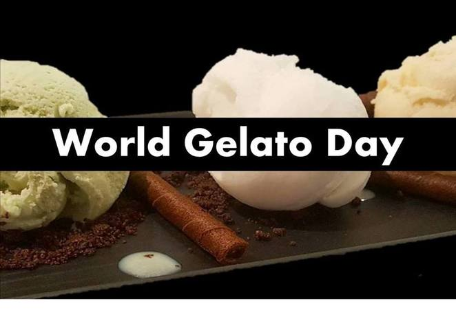 gelati, gelato, world gelato day, ice cream