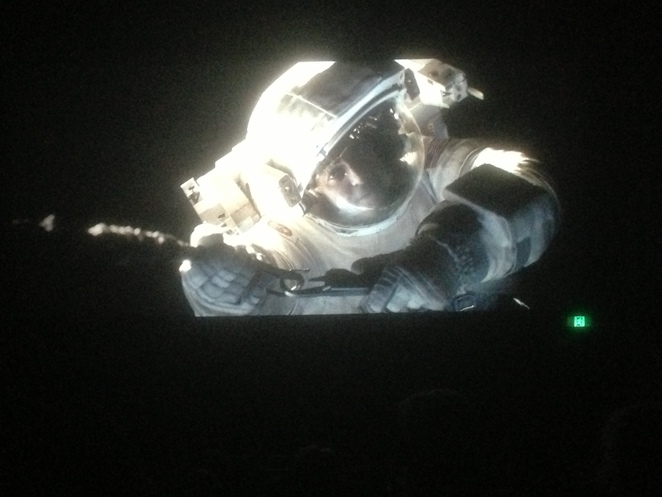 Gravity movie 2013 Alfonso Cuarón Sandra Bullock George Clooney